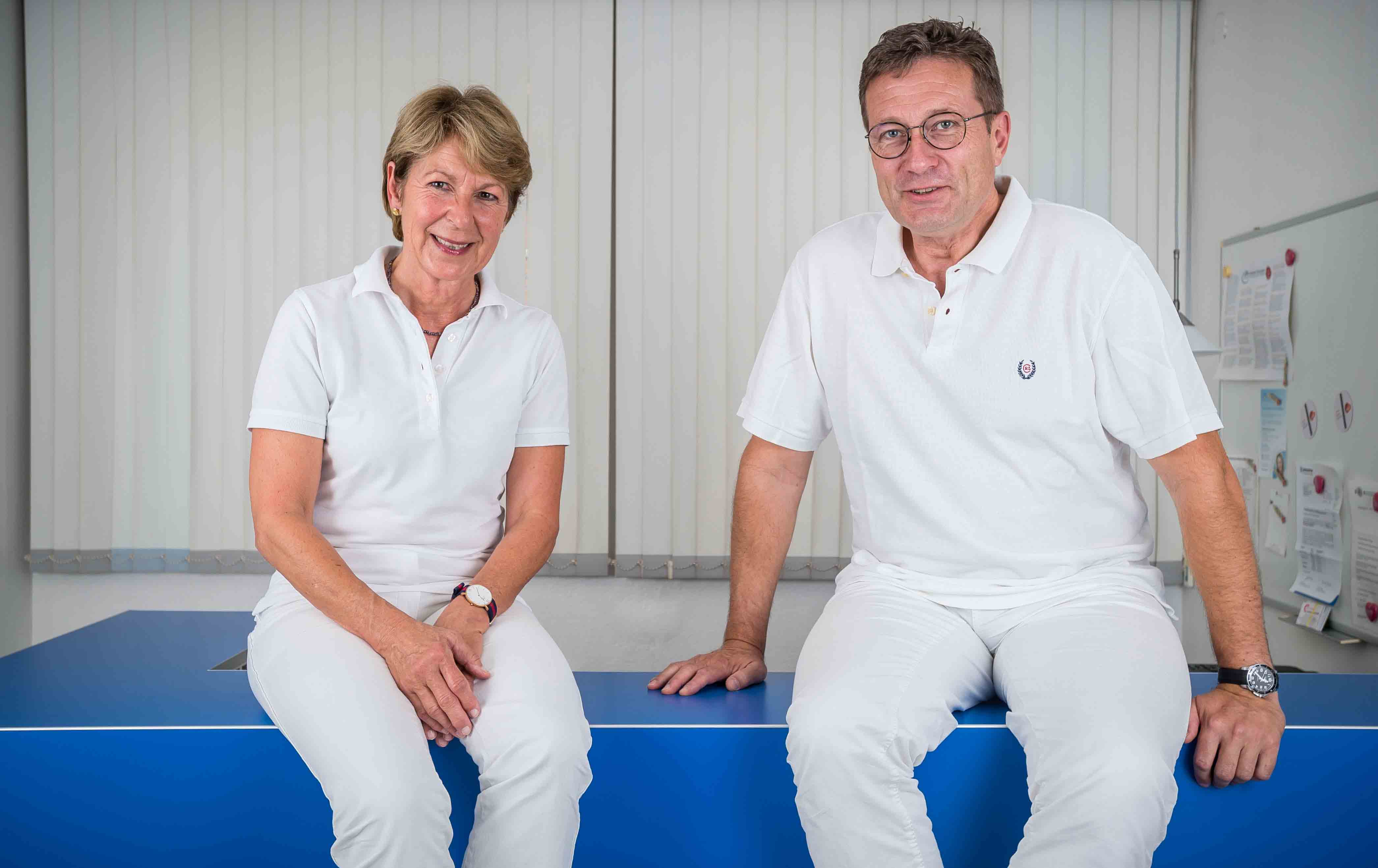 Frau Dr. Martina Horn und Herr Dr. Christian Höppner